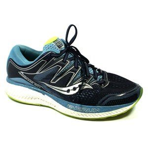 Saucony Womens Hurricane ISO 5 Blue Sneakers 10W
